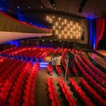 Vergaderen in een theater