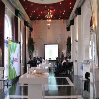 Vergaderen in Rotterdam bij Pompgebouw de Esch