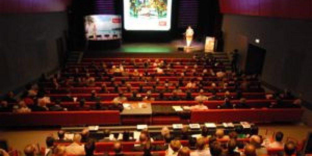 Vergaderen in het theater